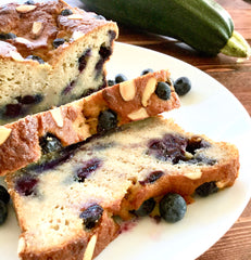 Zucchini and Blueberry Cake