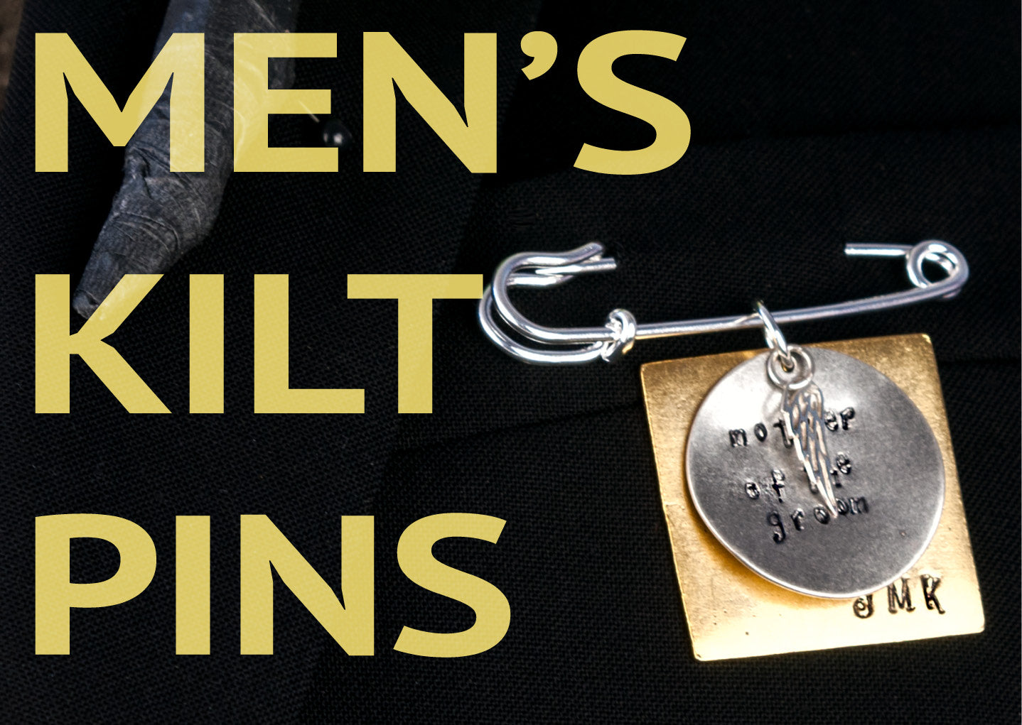 Men's kilt pins, heartfelt gifts to honor those walking with you