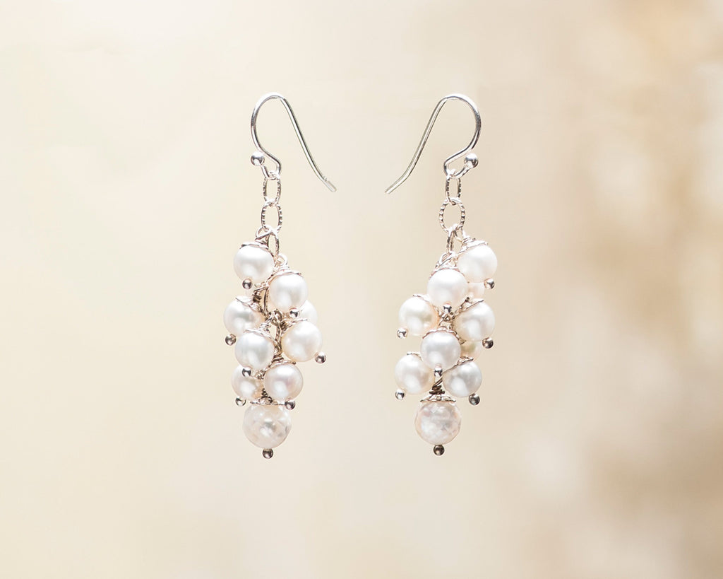 Multi-Drop Pearl Earrings NEW