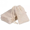 Natural Exfoliating Loofah Soap Bag - ecares