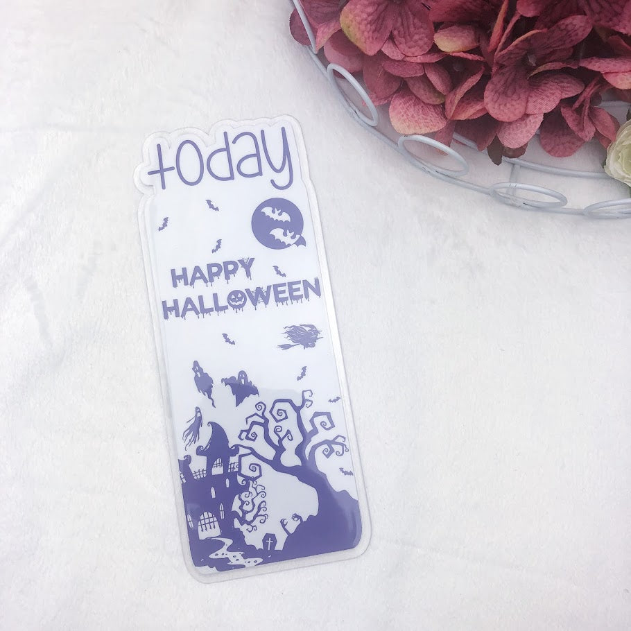 Pocket TN Purple Happy Halloween Today Tab - Ready to Ship
