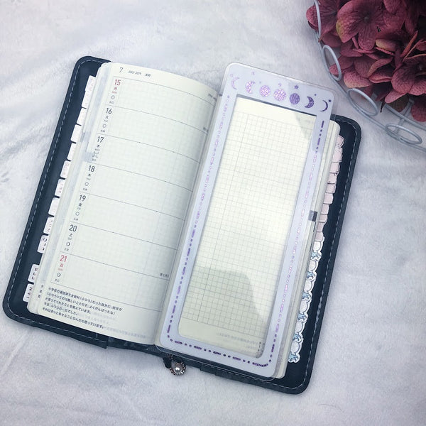 MTO Personal TN Moon Phase Planner Tabs