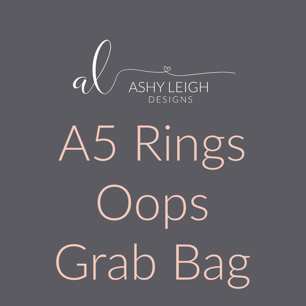 A5 Rings Grab Bag - Ready to Ship