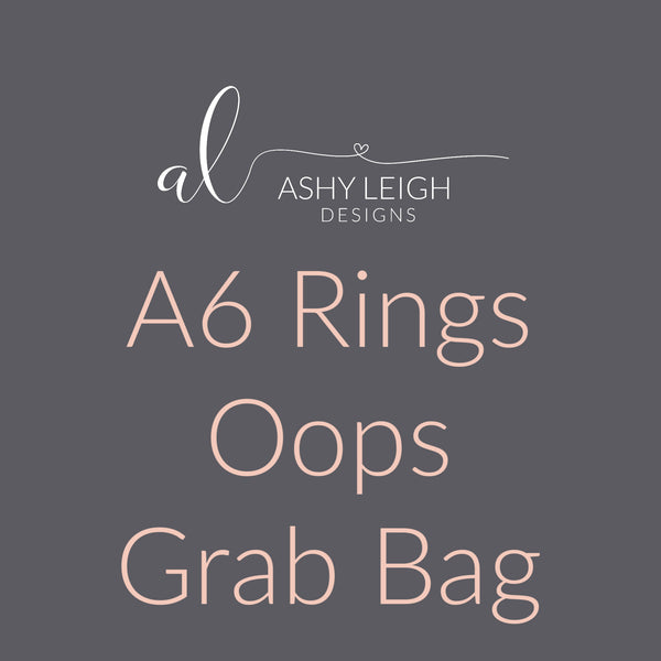 A6 Rings Grab Bag - Ready to Ship