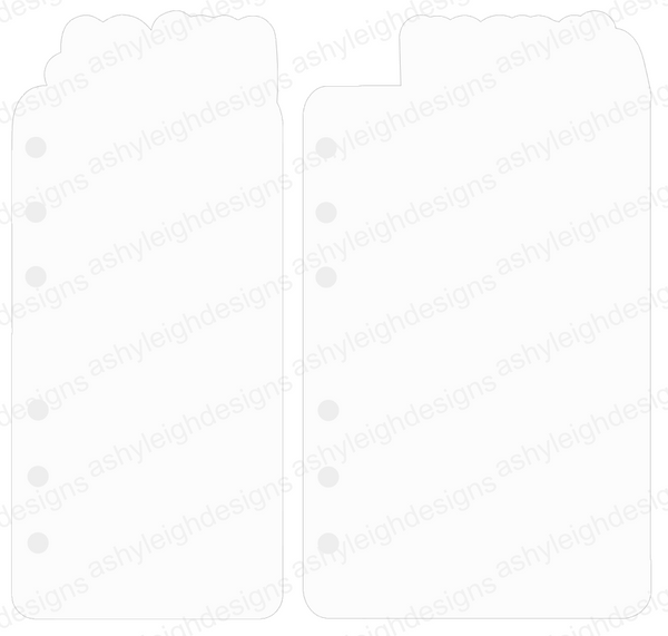 MTO A6 Rings Kiss with Hearts Planner Tabs