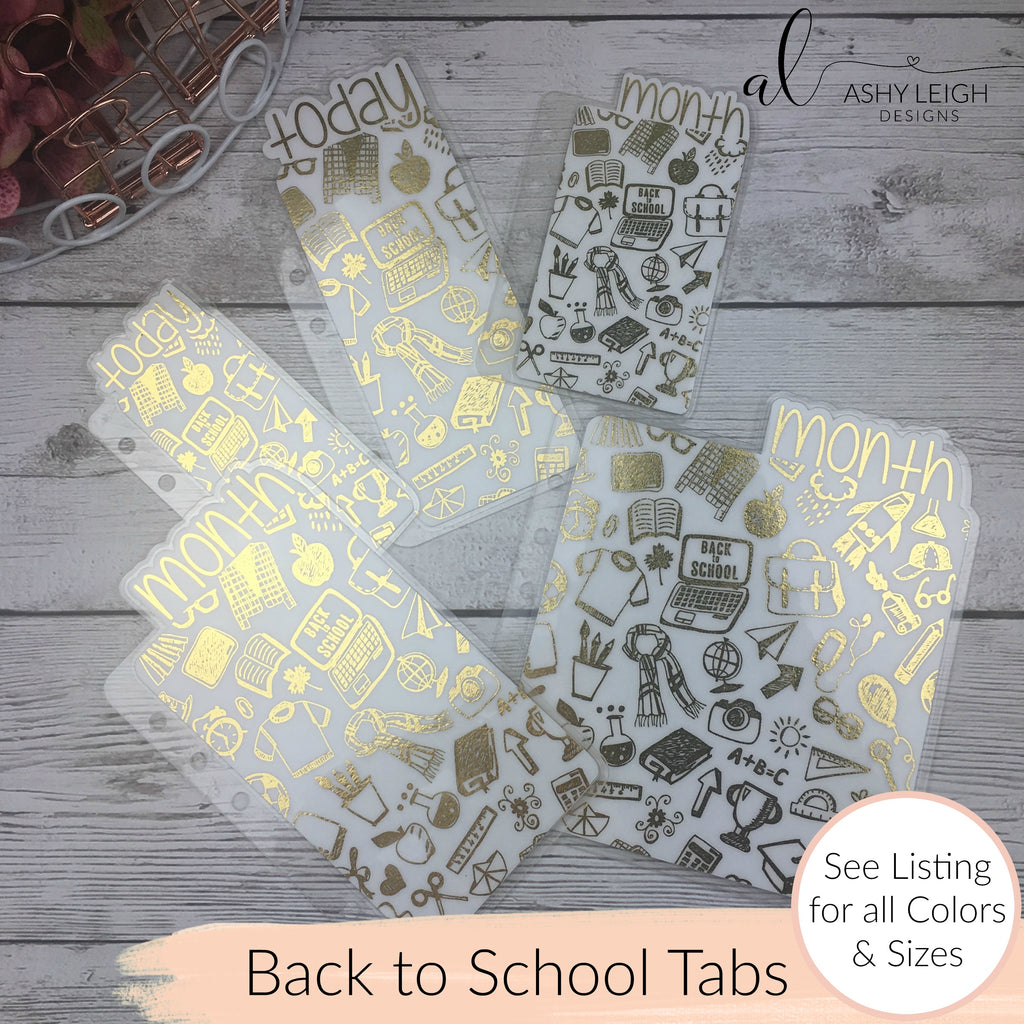 MTO B6 TN Back to School Planner Tabs