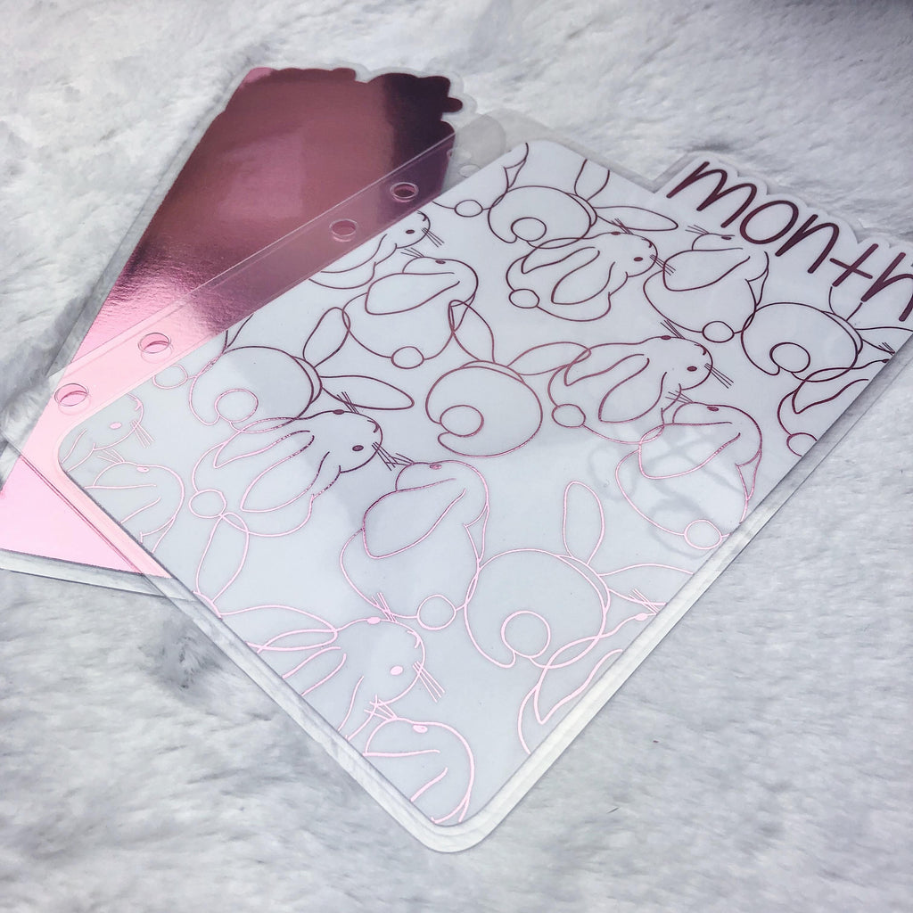 MTO Pocket TN Bunnies Planner Tabs