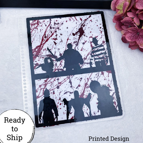 Spiral Bound Horror Dashboard - Ready to Ship