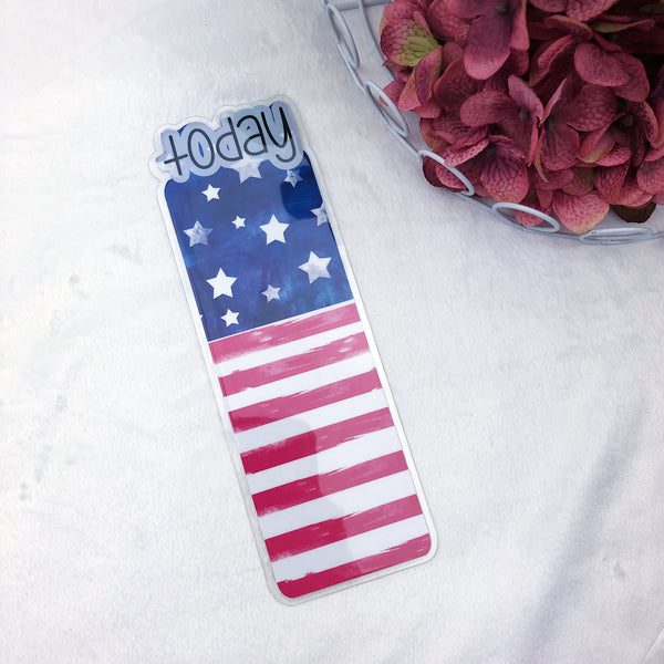 B6 TN Printed American Flag Today Tab - Ready to Ship