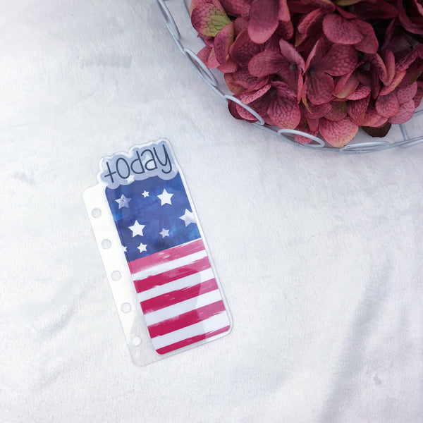Pocket Rings American Flag Today Tab - Ready to Ship