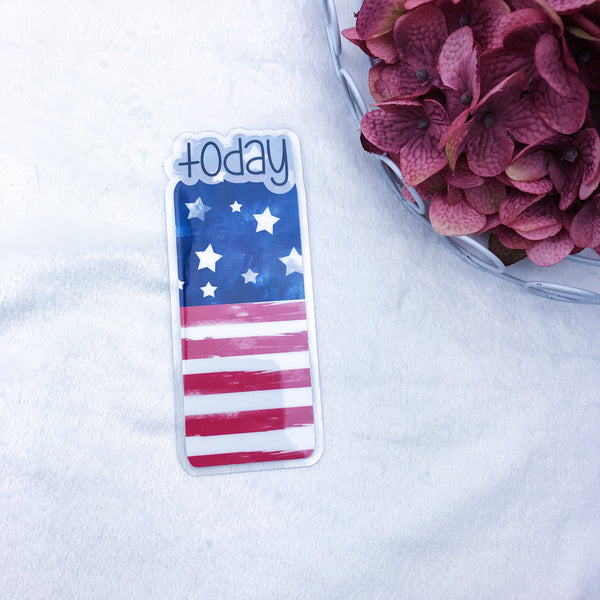 Micro/A7 TN Printed American Flag Today Tab - Ready to Ship