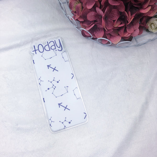 Pocket TN Purple Sagittarius Zodiac Today Tab - Ready to Ship