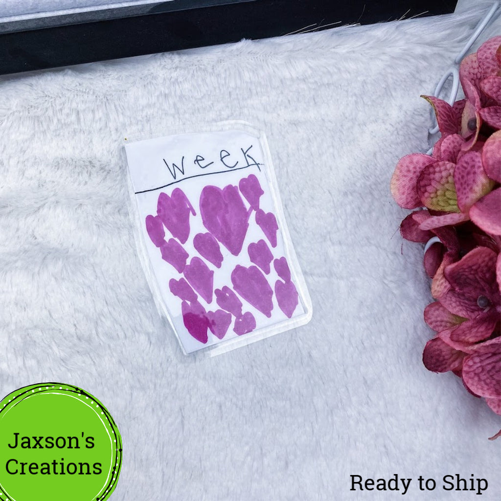 Jaxson's Creation Week Hearts