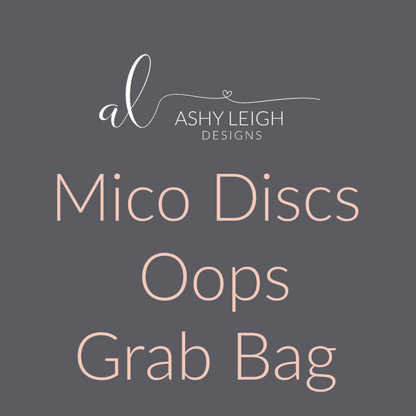 Micro Discs Grab Bag - Ready to Ship