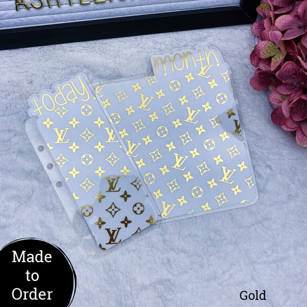MTO A5 Rings Vuitton Planner Tabs