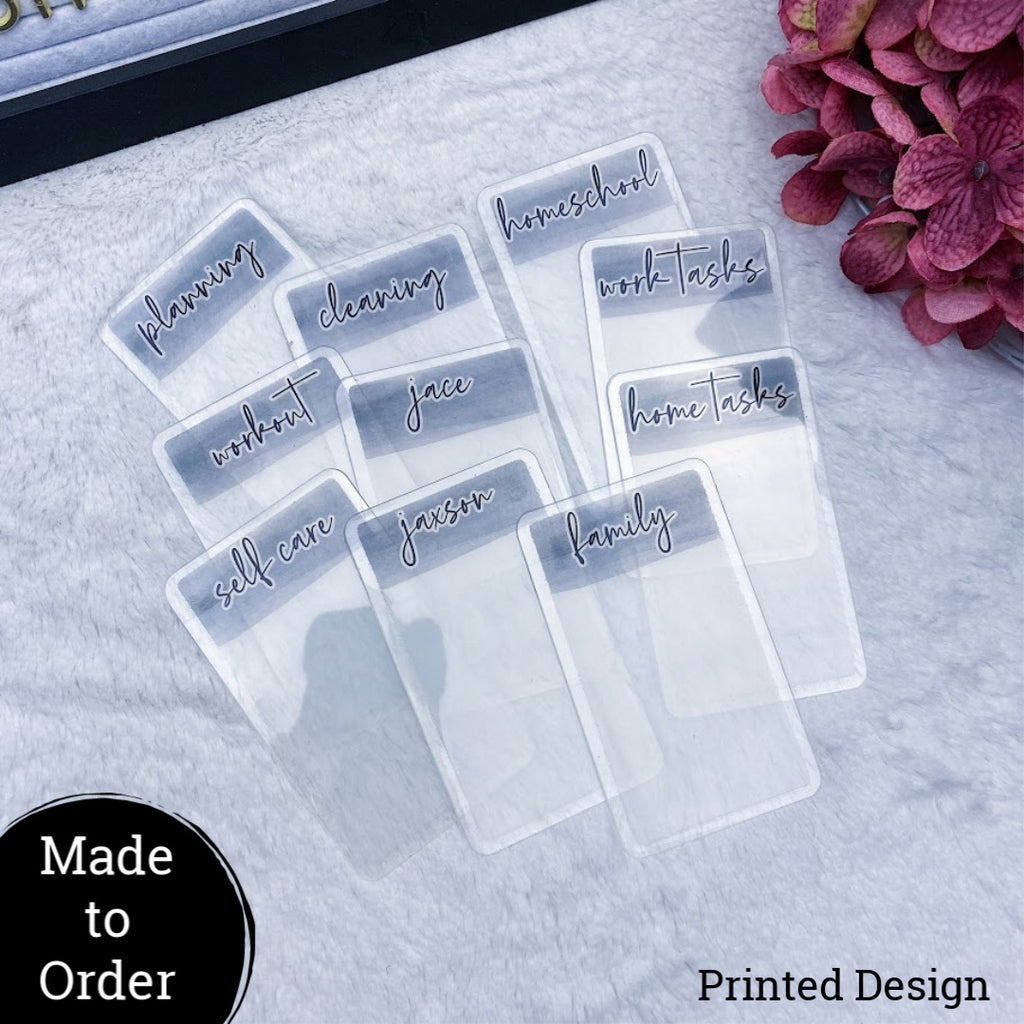 MTO Custom Planner Cards Set of 10
