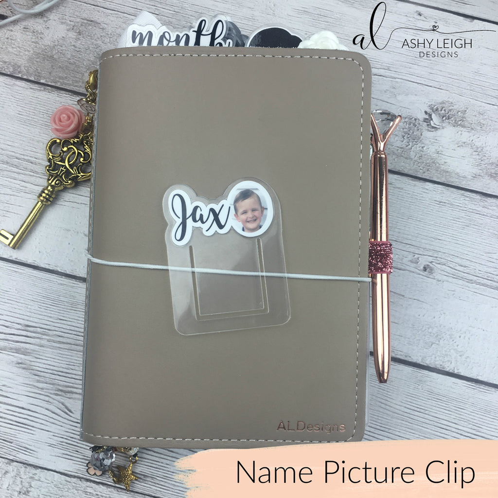 MTO Name Picture Planner Clip Tab