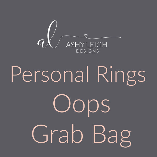 Personal Rings Grab Bag - Ready to Ship