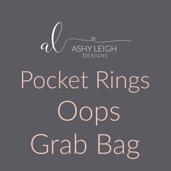 Pocket Rings Grab Bag - Ready to Ship
