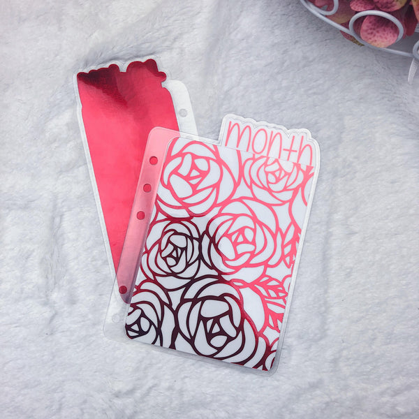 MTO Discs Roses Planner Tabs