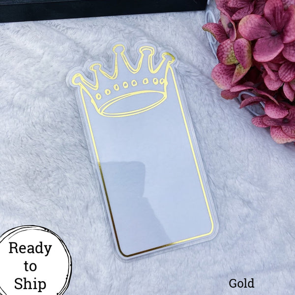 A6 TN Gold Center Crown Tab - Ready to Ship