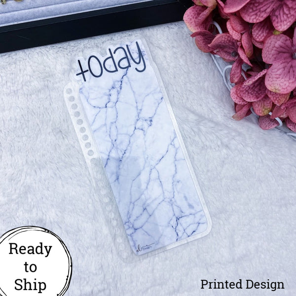 Spiral Bound Marble Today Tab - Ready to Ship