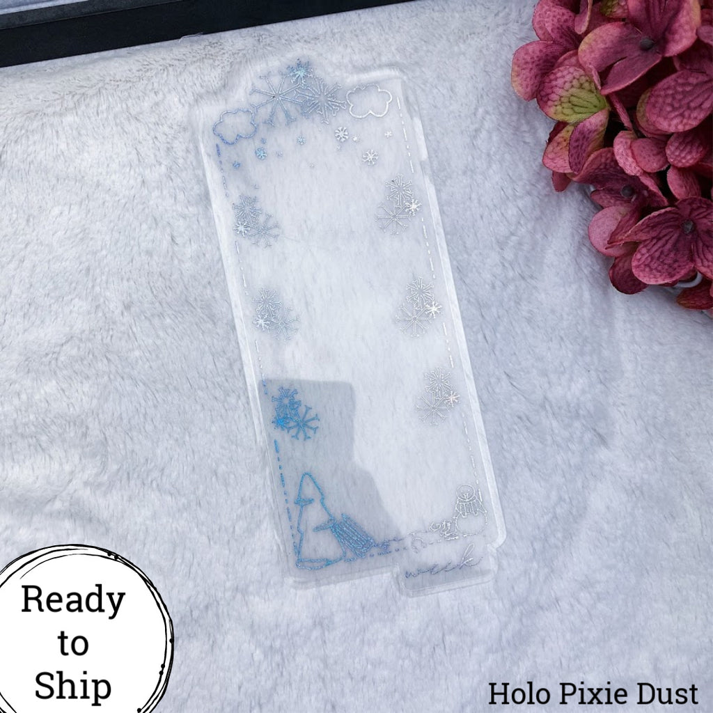 Weeks Holo Pixie Dust Winter Dashboard - Ready to Ship
