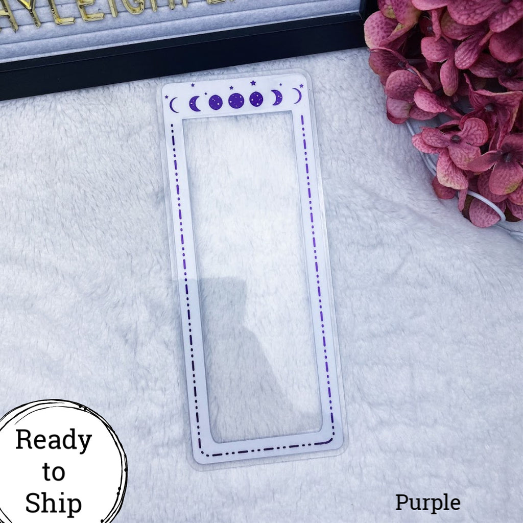 Hobonichi Weeks Purple Moon Phase Tab - Ready to Ship