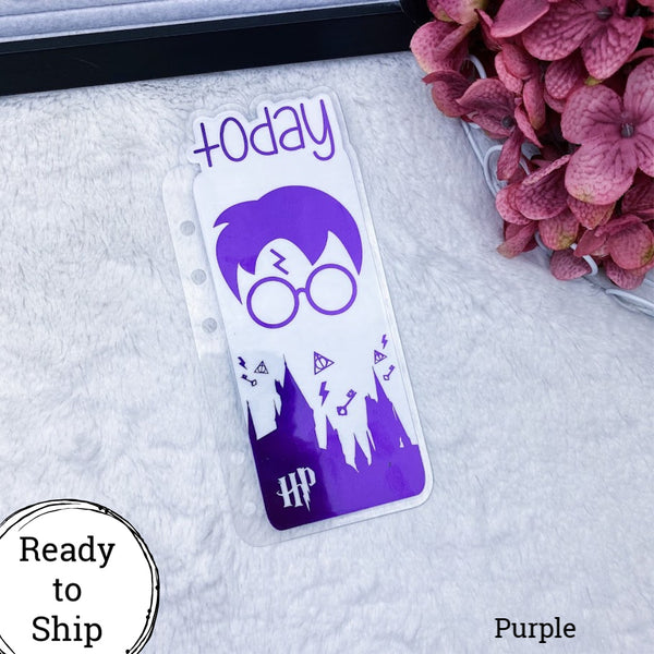 Personal Rings Purple Wizard Today Tab - Ready to Ship