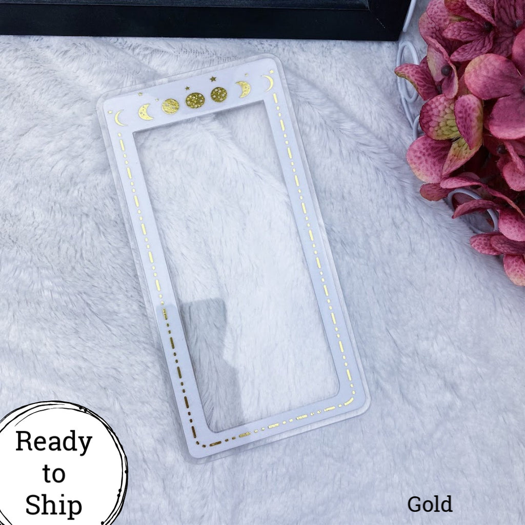 Pocket TN Gold Moon Phase Planner Tab - Ready to Ship