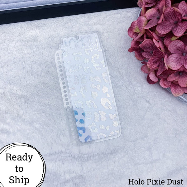 Erin Condren Holo Pixie Dust Leopard Print Today Tab - Ready to Ship