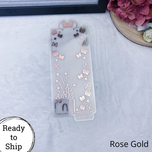 Personal TN Rose Gold Magical Dashboard - Ready to Ship