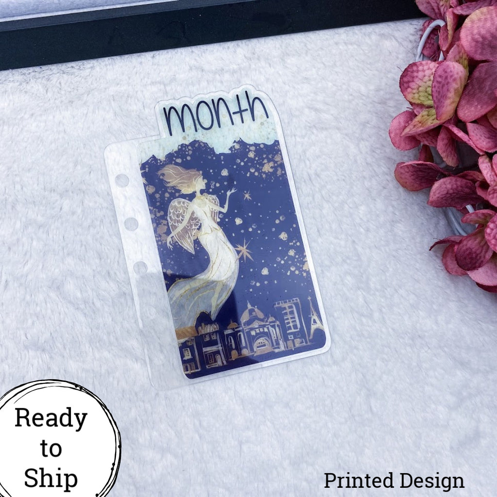 Pocket Rings Angels on High Month Tab - Ready to Ship