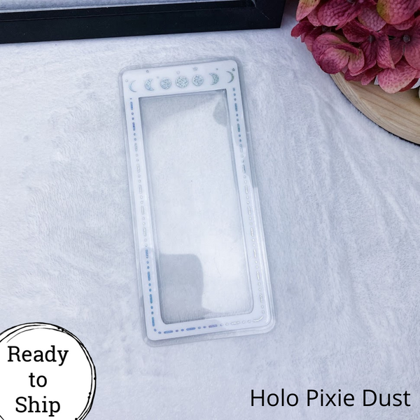 Pocket TN Holo Pixie Dust Moon Phase Planner Tab - Ready to Ship
