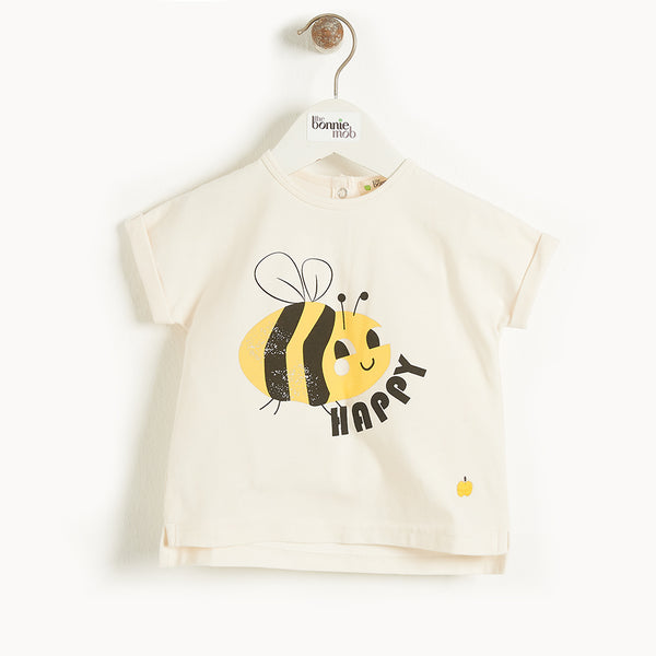 BARBADOS - Kids T-Shirt  BEE HAPPY