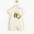 BARI - Baby Shorty Playsuit BEE HAPPY