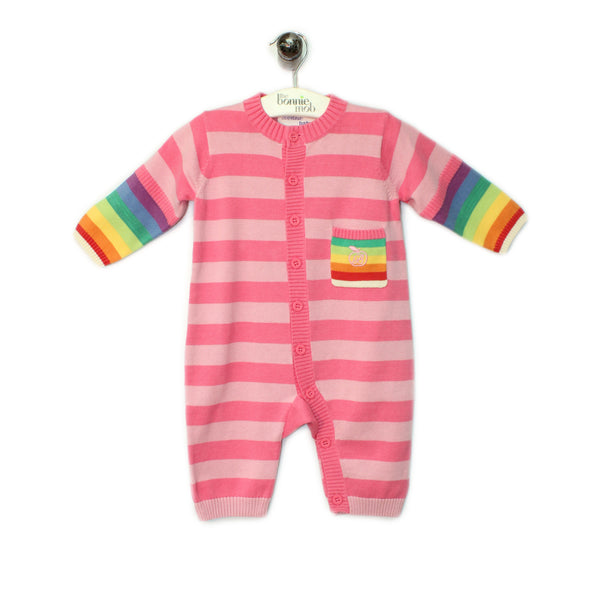 BB020A - Baby - Playsuit - PINK