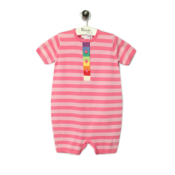 BB082A - Baby - Playsuit - PINK