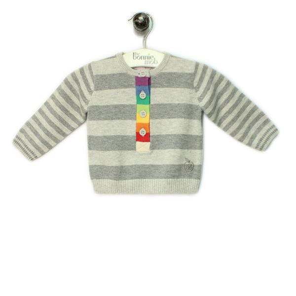 BB086A - Baby - Top - GREY
