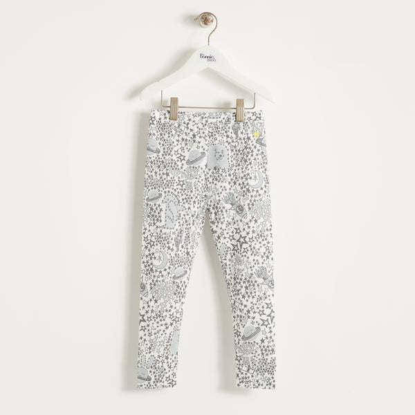 BILLIE - Kids - Legging - GREY NIGHT SKY
