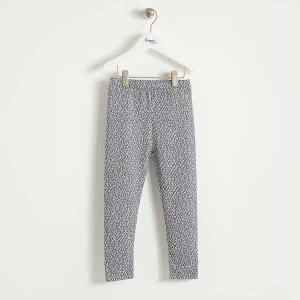 BILLIE - Kids - Legging - GREY TREE PRINT