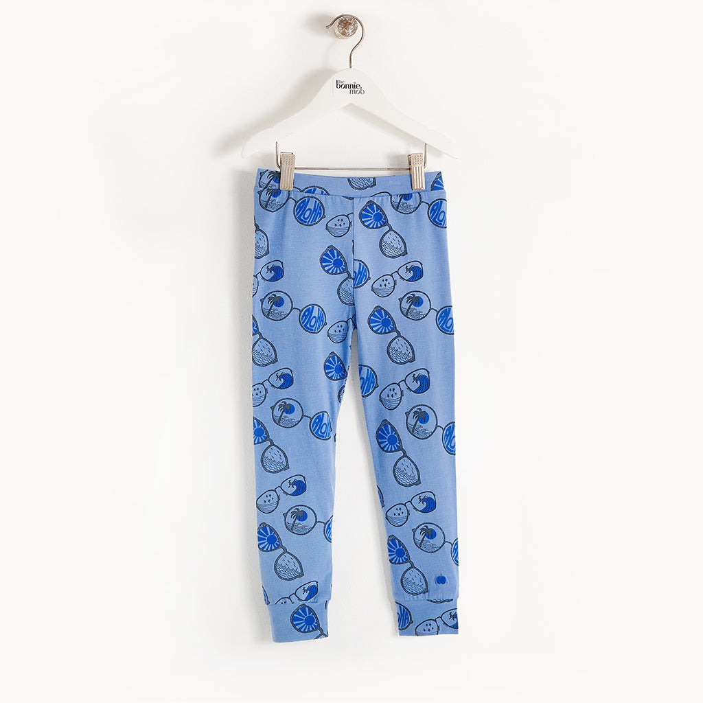 BUCHAN - Kids - Legging - BLUE SUNNIES