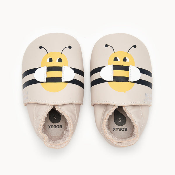 BUMBLE BEE - Baby Bee Soft Sole Shoe MILK