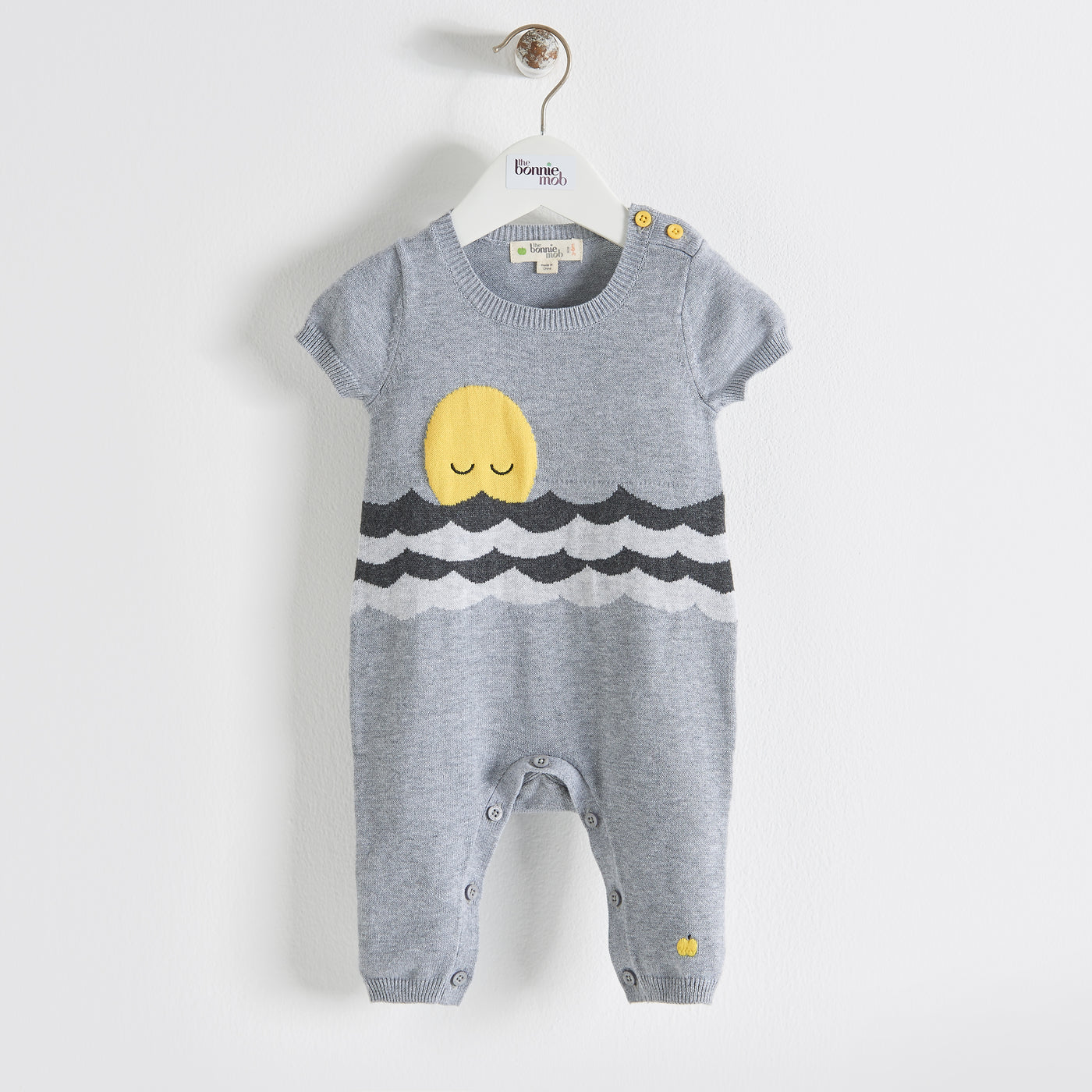 CHAPPY - Baby - Playsuit - GREY