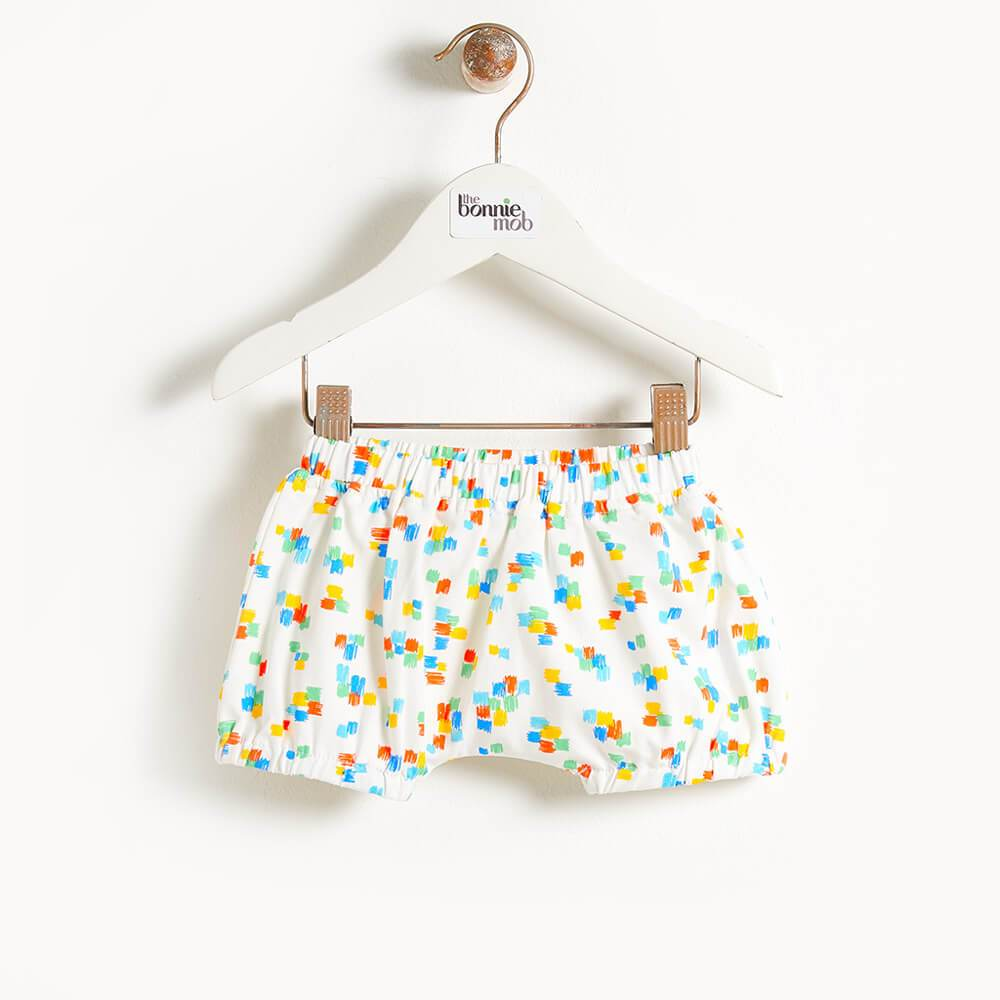 DEGAS - Printed Baby Bloomer Shorts - Multicolour