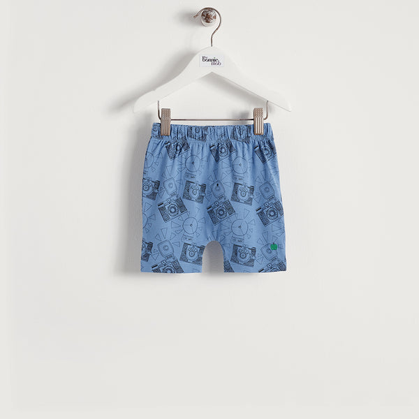 DIXIE - Baby - Shorts - BLUE