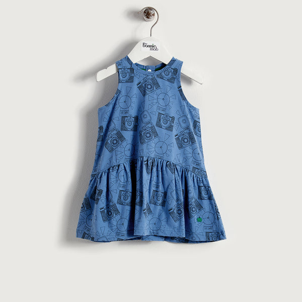 DOLLY - Kids - Dress - BLUE
