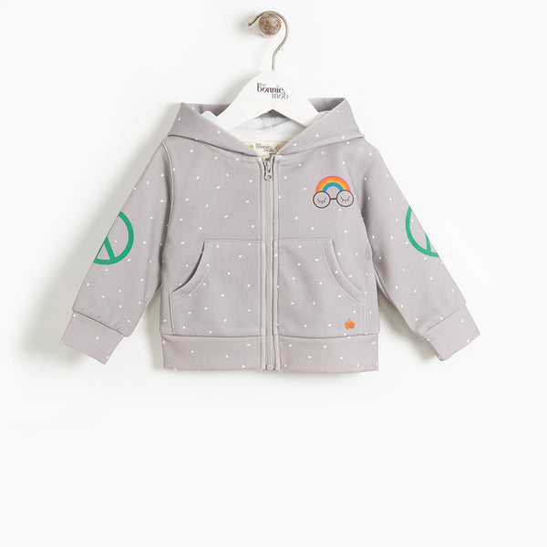 DONNY - Baby Pandas For Peace Hoodie - GREY