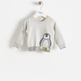 DOPPLE - Baby - Sweater - GREY