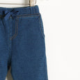 DOWNTOWN - Denim Terry Jogging Trousers - Baby Unisex - Denim